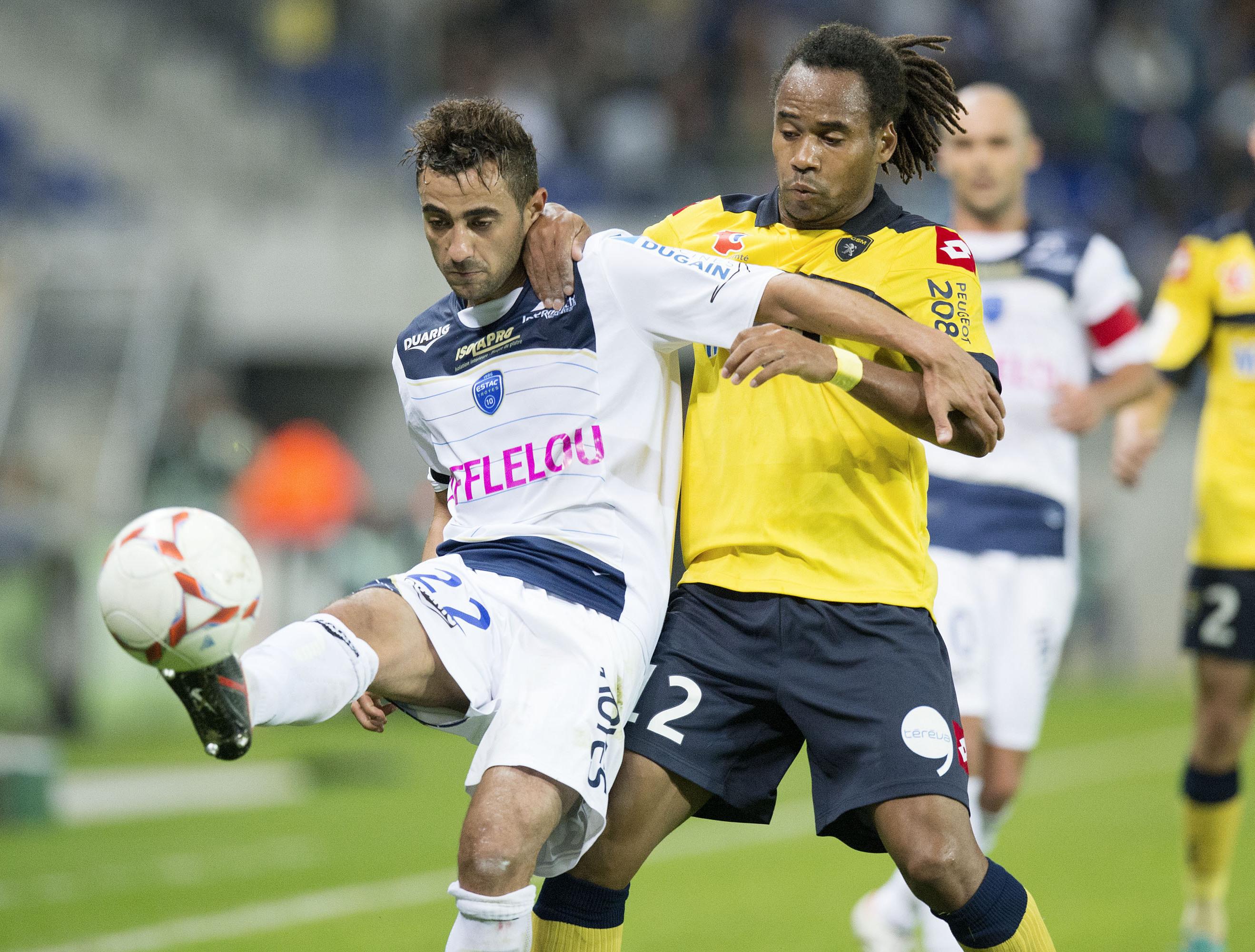 Ligue 2 match fc sochaux vs estac troyes en direct for Match estac