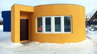 Une maison construite en 24h par une imprimante 3D