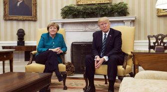 Donald Trump vs Angela Merkel