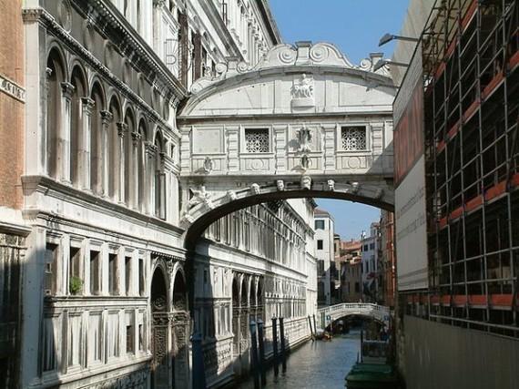 Pont des Soupirs (Venise, Italie)