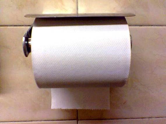 Le projet de la Constitution remplace le papier toilette