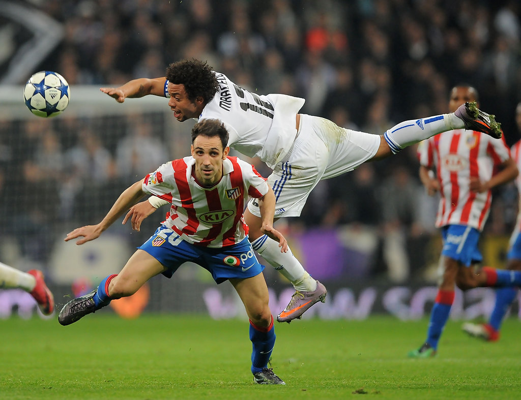 Marcelo (Real Madrid) - Juanfran (Atletico Madrid)