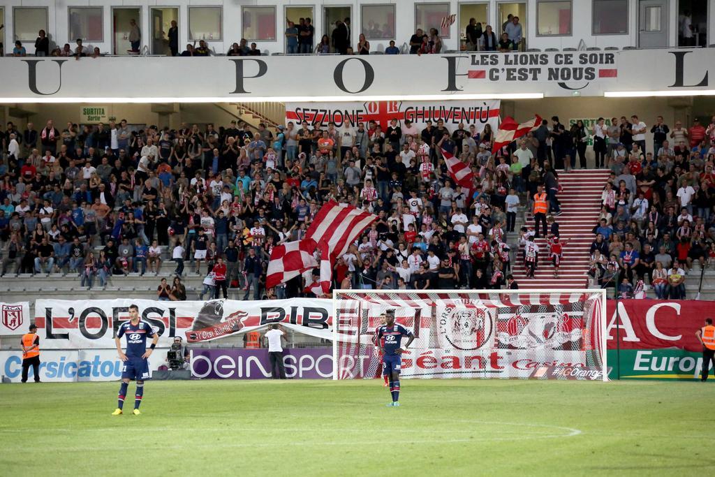 AJ Ajaccio Olympique de Lyon