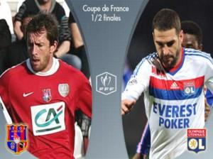 Voir Ajaccio vs OL Lyon en direct
