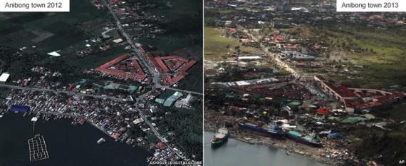 Anibong ville près de la ville de Tacloban