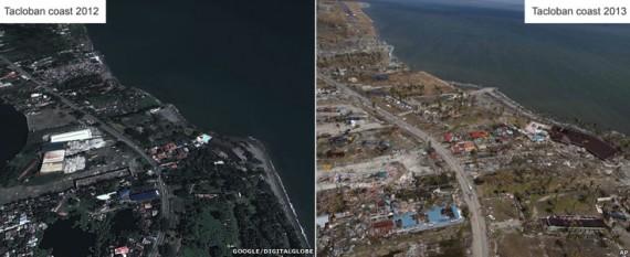 La dévastation de Tacloban