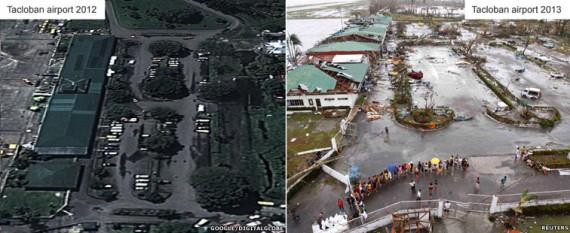 L'aéroport de Tacloban
