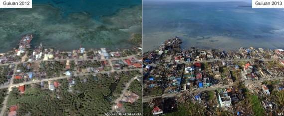 La ville de la Guiuan