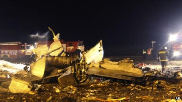 Russie – L'équipage soupçonné d'être la cause de l'accident d'avion