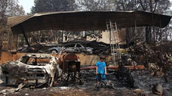 En 2013, l'Australie a connu une chaleur extrême des incendies qui en découlent