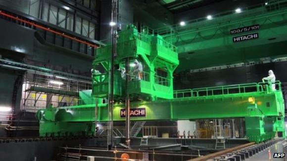 Tepco s'est préparé pendant des mois pour retirer les barres de combustible à Fukushima