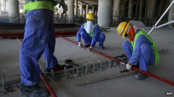 Beaucoup de travailleurs migrants au Qatar viennent de l'Asie du Sud, selon Amnesty