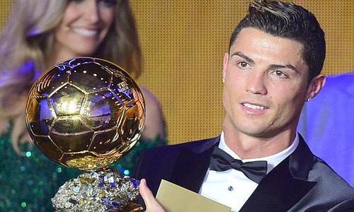 Cristiano Ronaldo - Ballon d'Or 2013