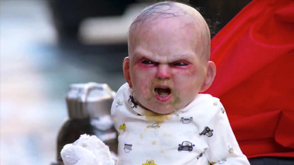 Un bébé-démon terrorise les habitants de New York