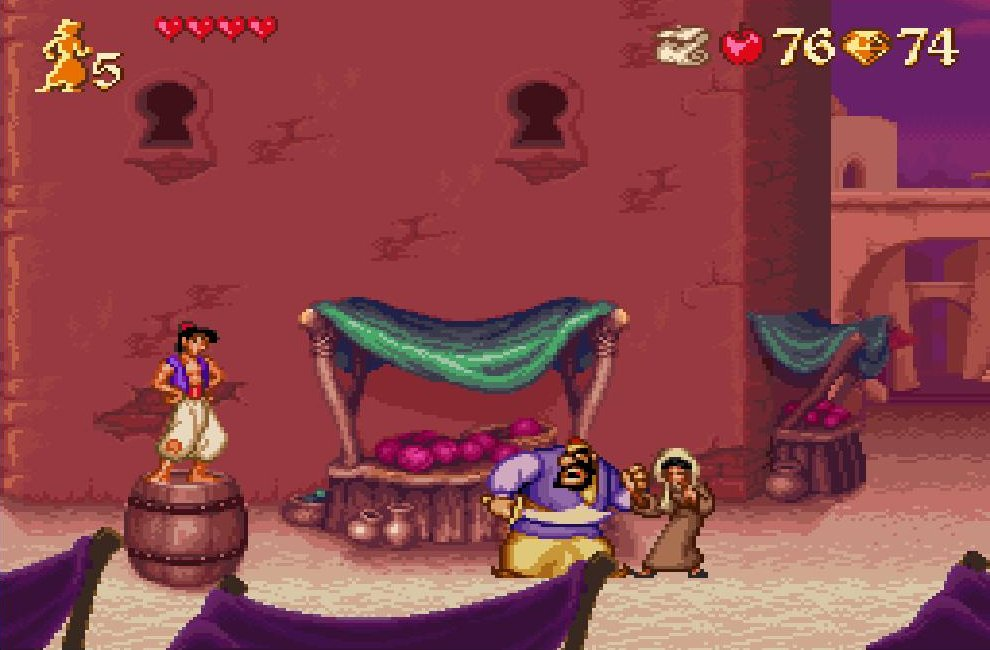 Aladdin version Super Nintendo