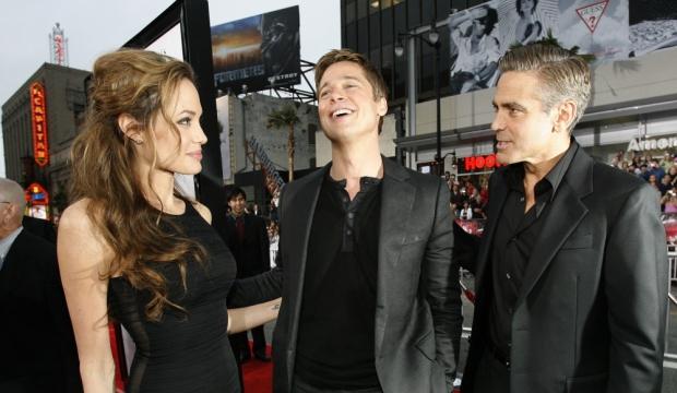 George Clooney mariera Brad et Angelina