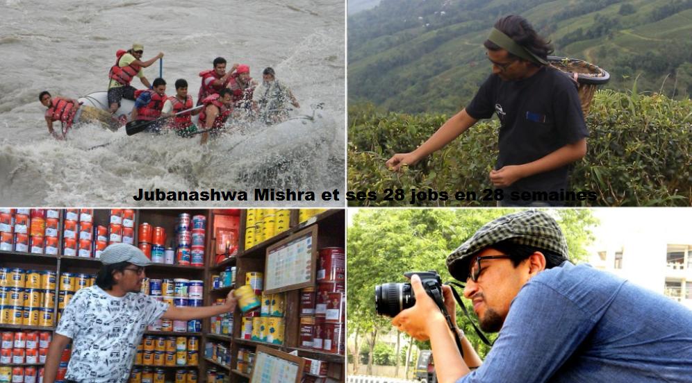 Jubanashwa Mishra et ses 28 jobs en 28 semaines