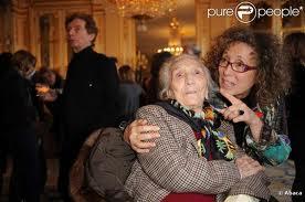 Mireille Dumas et sa mère