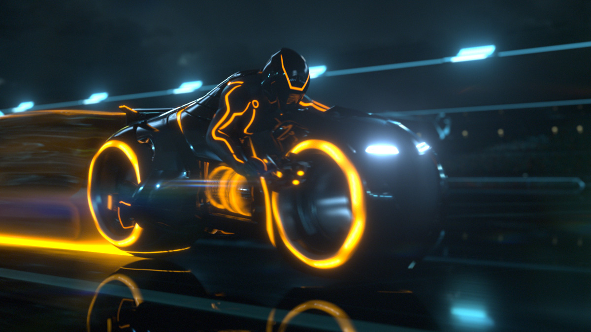 La Superbike du Film Tron