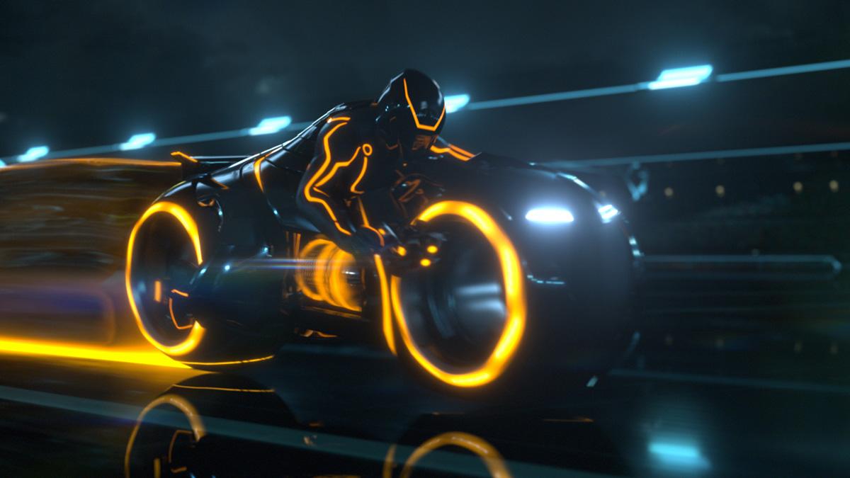 La Superbike du Film Tron