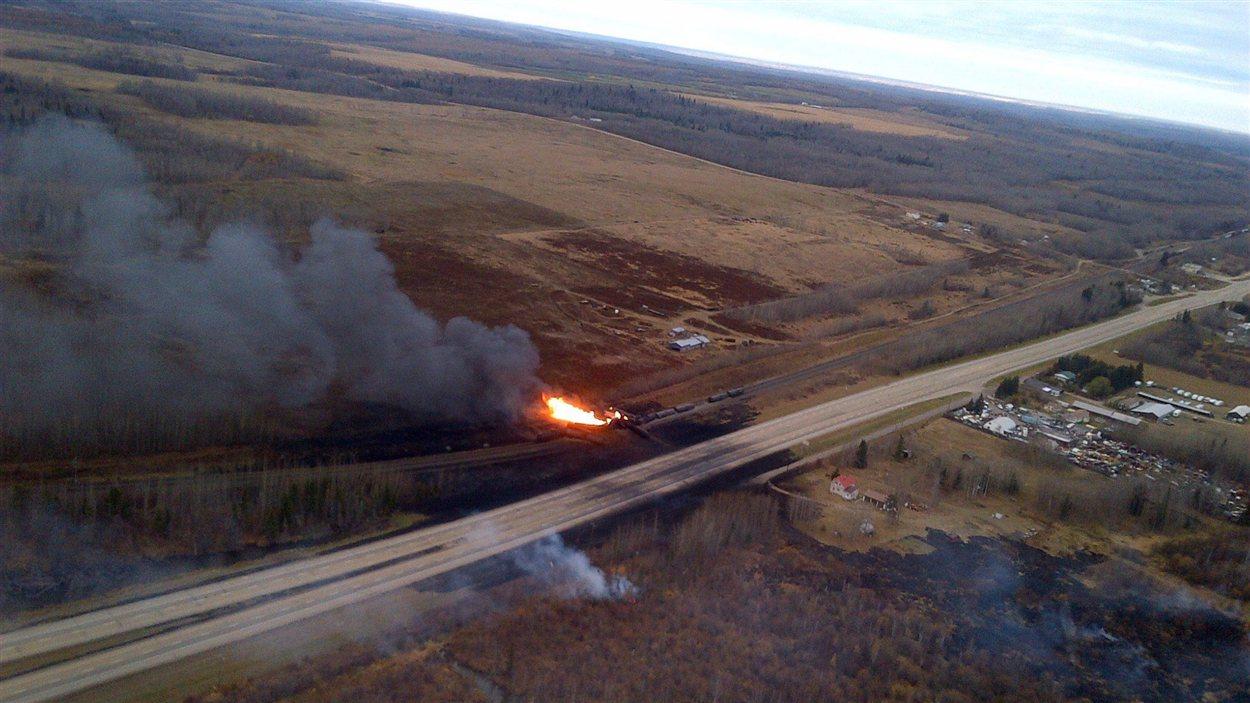 Explosion d'un train en Russie