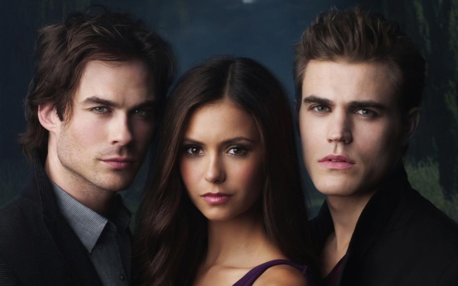 l'équipe de the vampire diaries