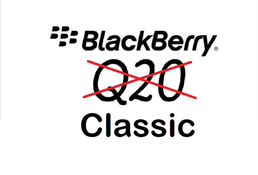 BlackBerry Q20 sera dorénavant le BlackBerry Classic
