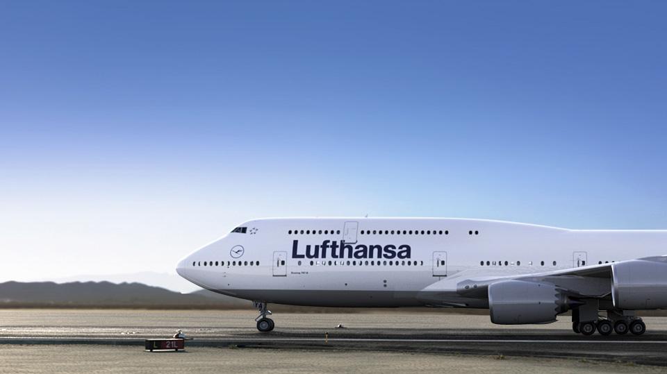 Avion Lufthansa