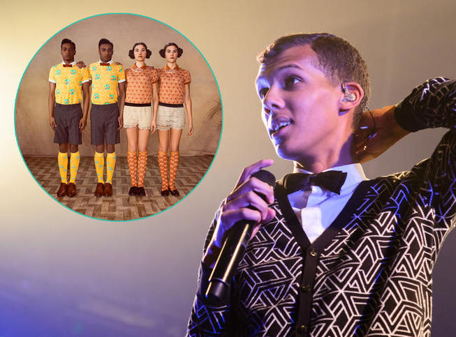 Stromae lance sa collection de prêt à porter
