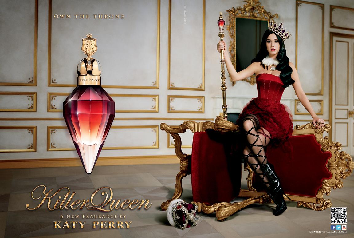 le nouveau parfum de Katy Perry