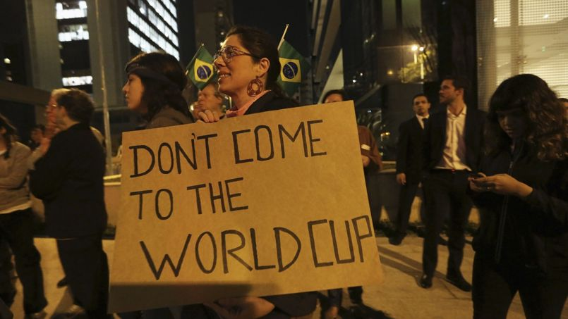 Manifestation au Brésil