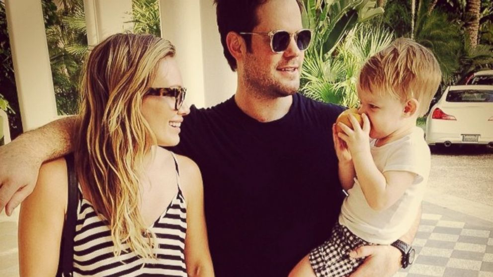 Hilary Duff et sa petite famille