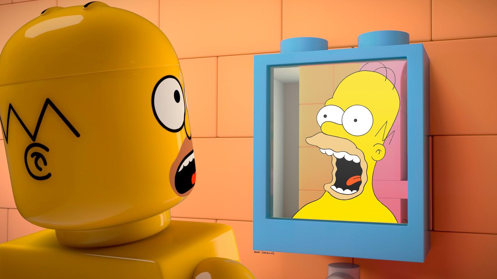 Les Simpsons en Lego