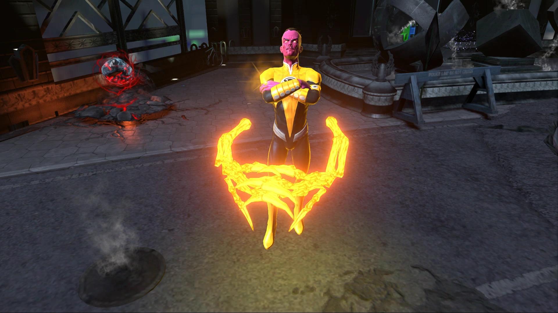 Sinestro dans Infinitite Crisis