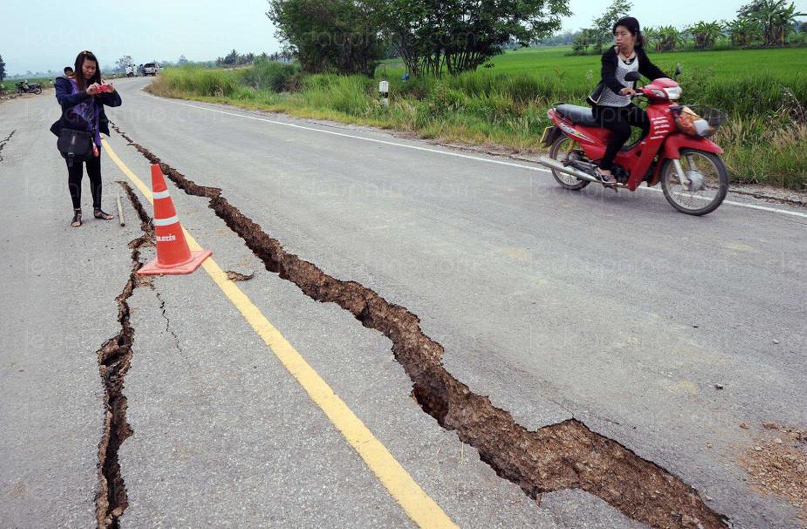 Thaïlande: L'oeuvre d'un ancien tremblement de terre
