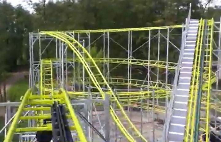 un accident grave au parc d'attraction Didi'Land