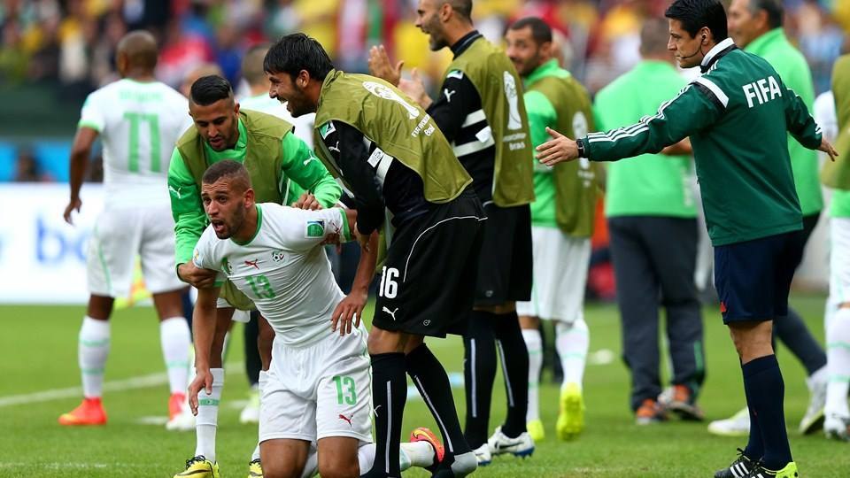 Resultat match algerie slovenie 2014
