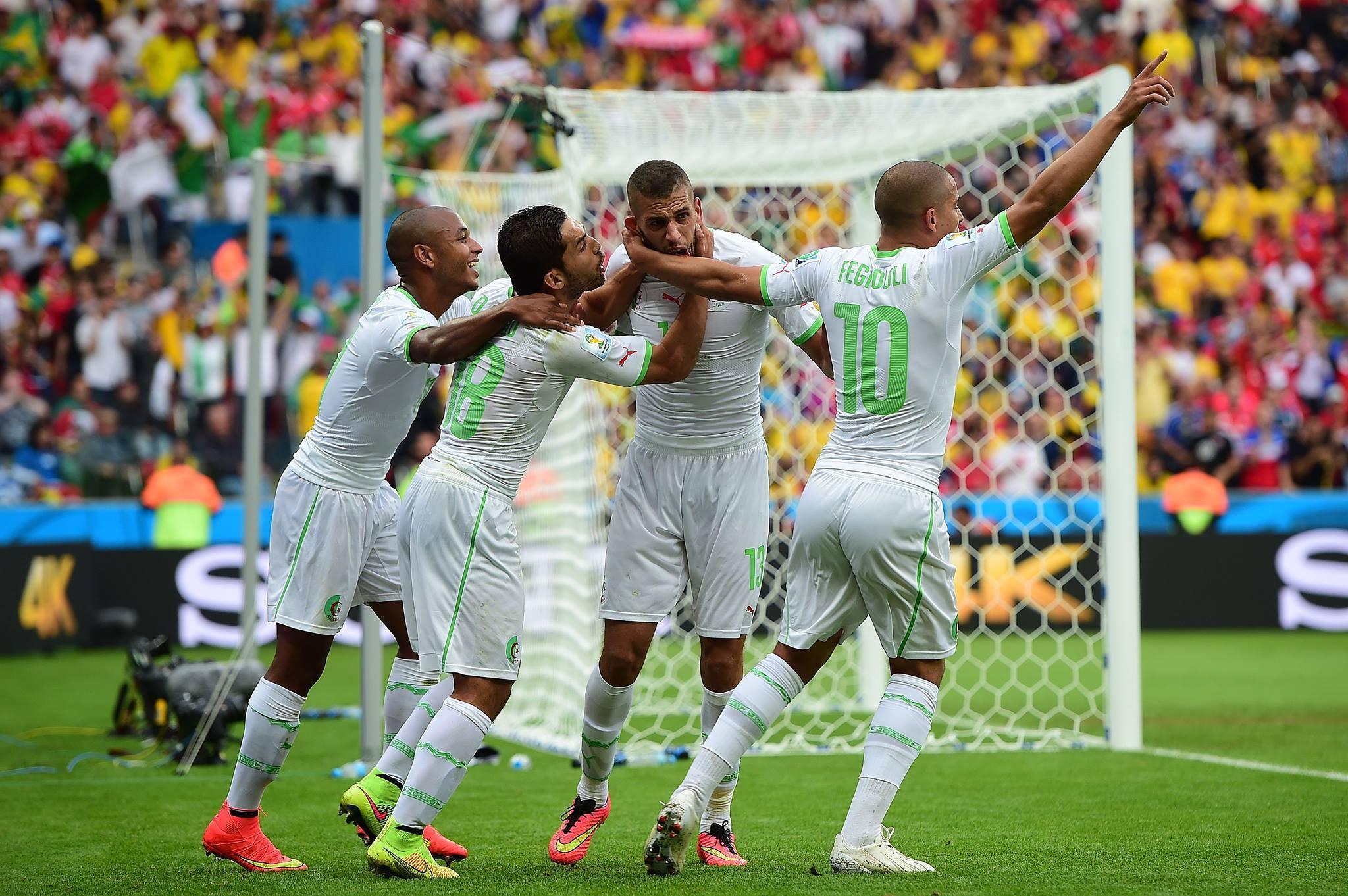 Match Corée du Sud Vs Algérie - Résultat final: 2-4