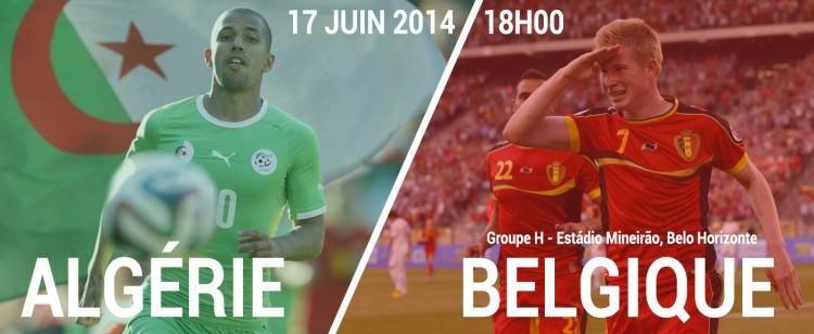Match Belgique Vs Algérie à partir de 18h00 en direct sur TF1 et beIN Sport 1