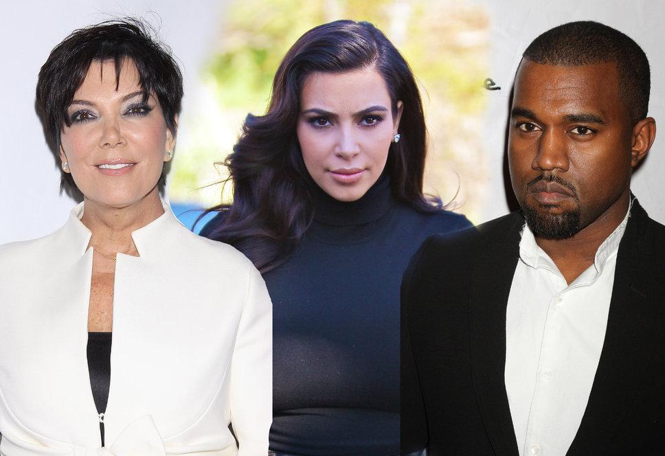 Après le mariage Kim Kardashian retourne vivre chez maman