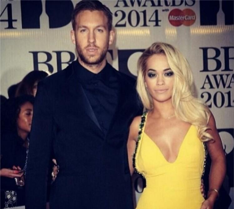 Calvin Harris et Rita Ora