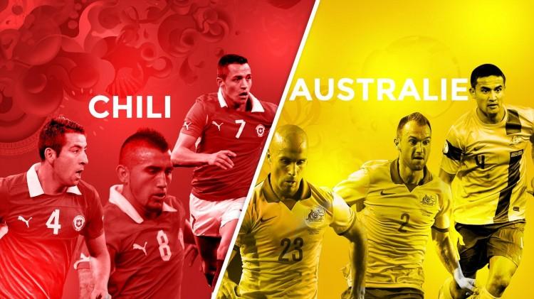 Chili - Australie en direct Live et Streaming sur Internet