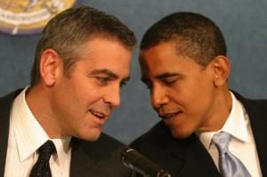 George Clooney et Barack Obama
