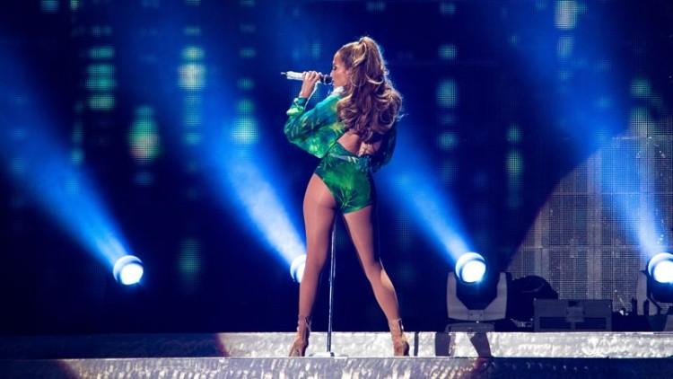 Jennifer Lopez présente à la Cérémonie d'ouverture de la Coupe du Monde 2014