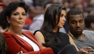 Kim et Kanye de nouveau chez Kris Jenner