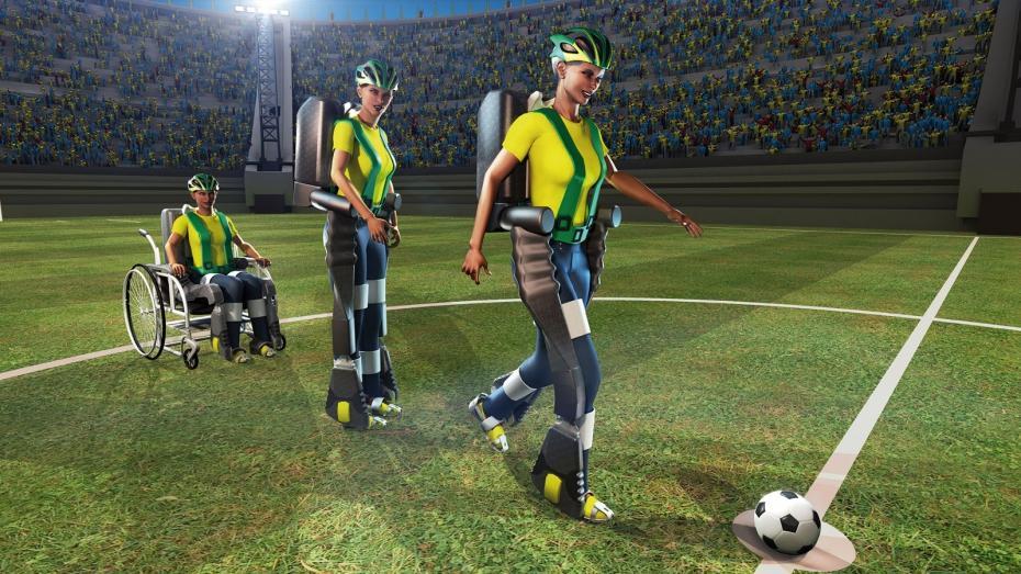 Le ballon du Mondial sera touché par un paraplégique équipé d'un exosquelette