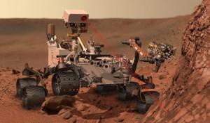 Les roues de Curiosity se sont détériorées