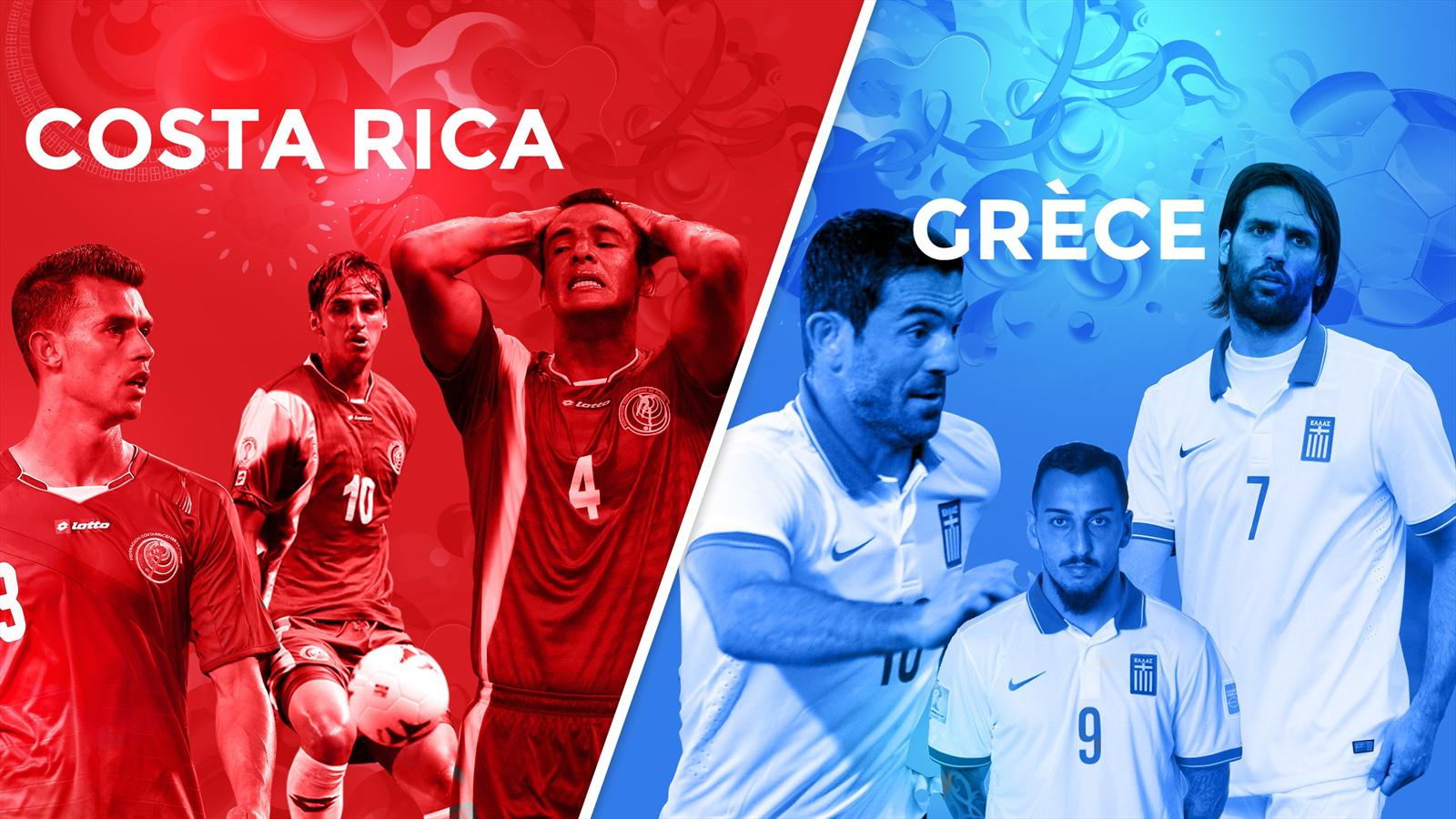 Match Costa Rica Grèce en direct live streaming