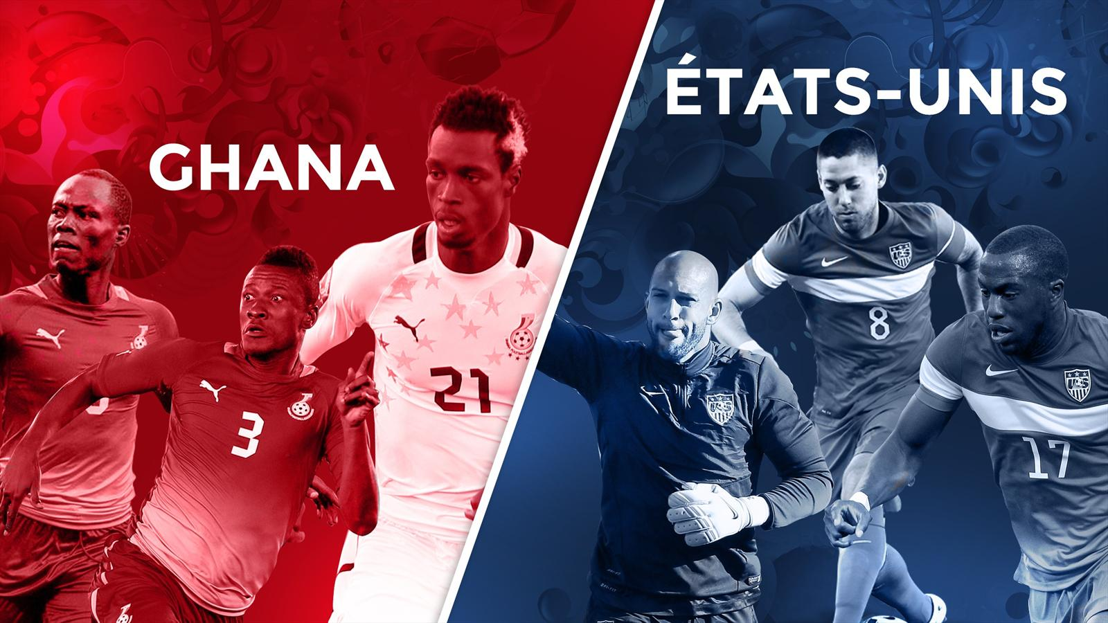 Match Ghana USA en direct et streaming