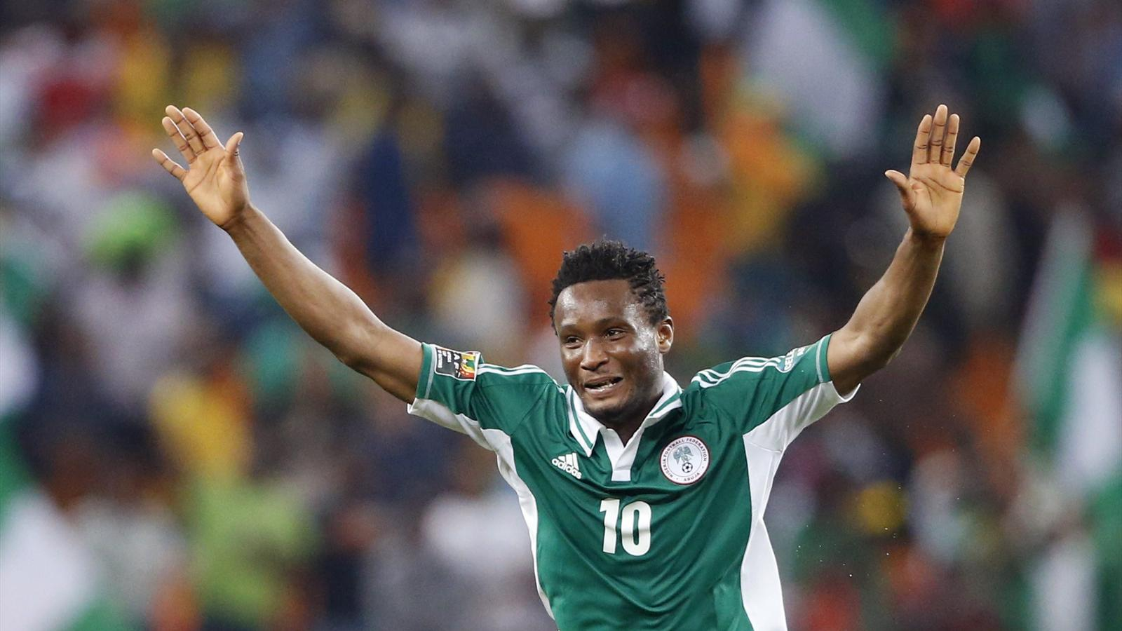 Obi Mikel - Match Iran Vs Nigeria en direct Tv sur beIN Sport 1